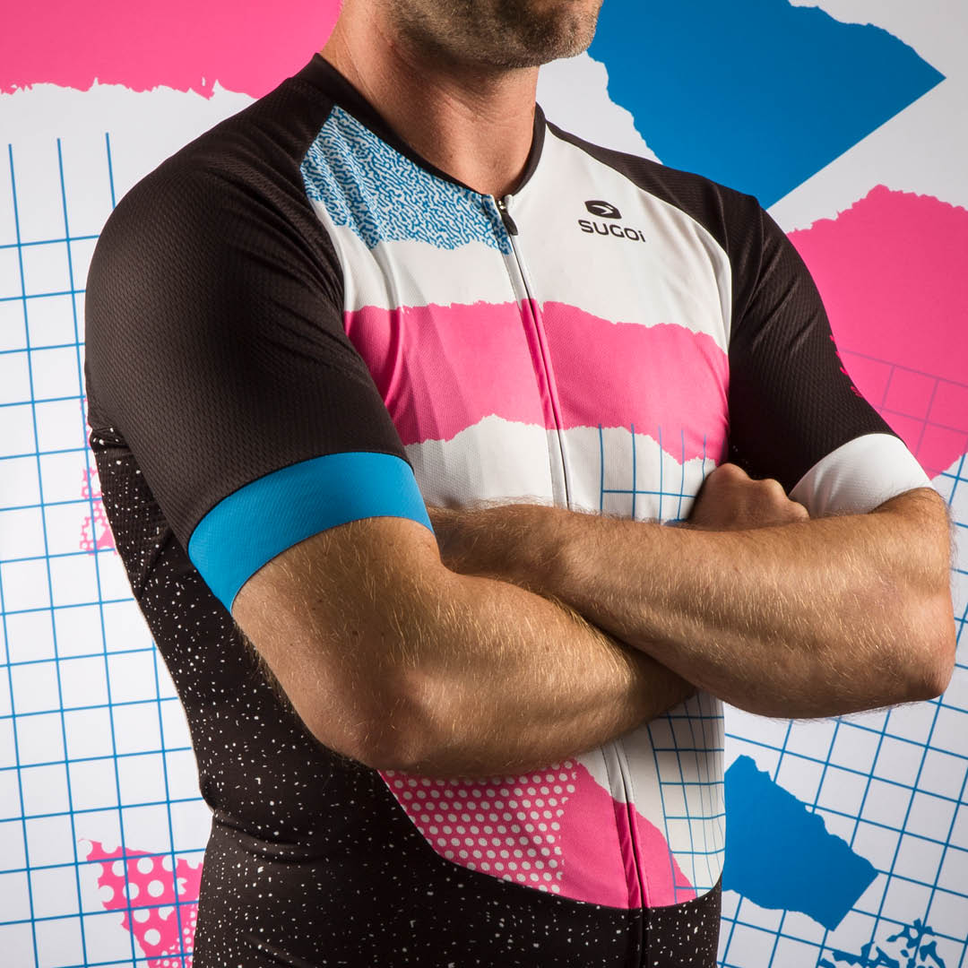 Sugoi Custom Memphis Kit, From the Vaults 3 Contest Grand Prize, jersey detail
