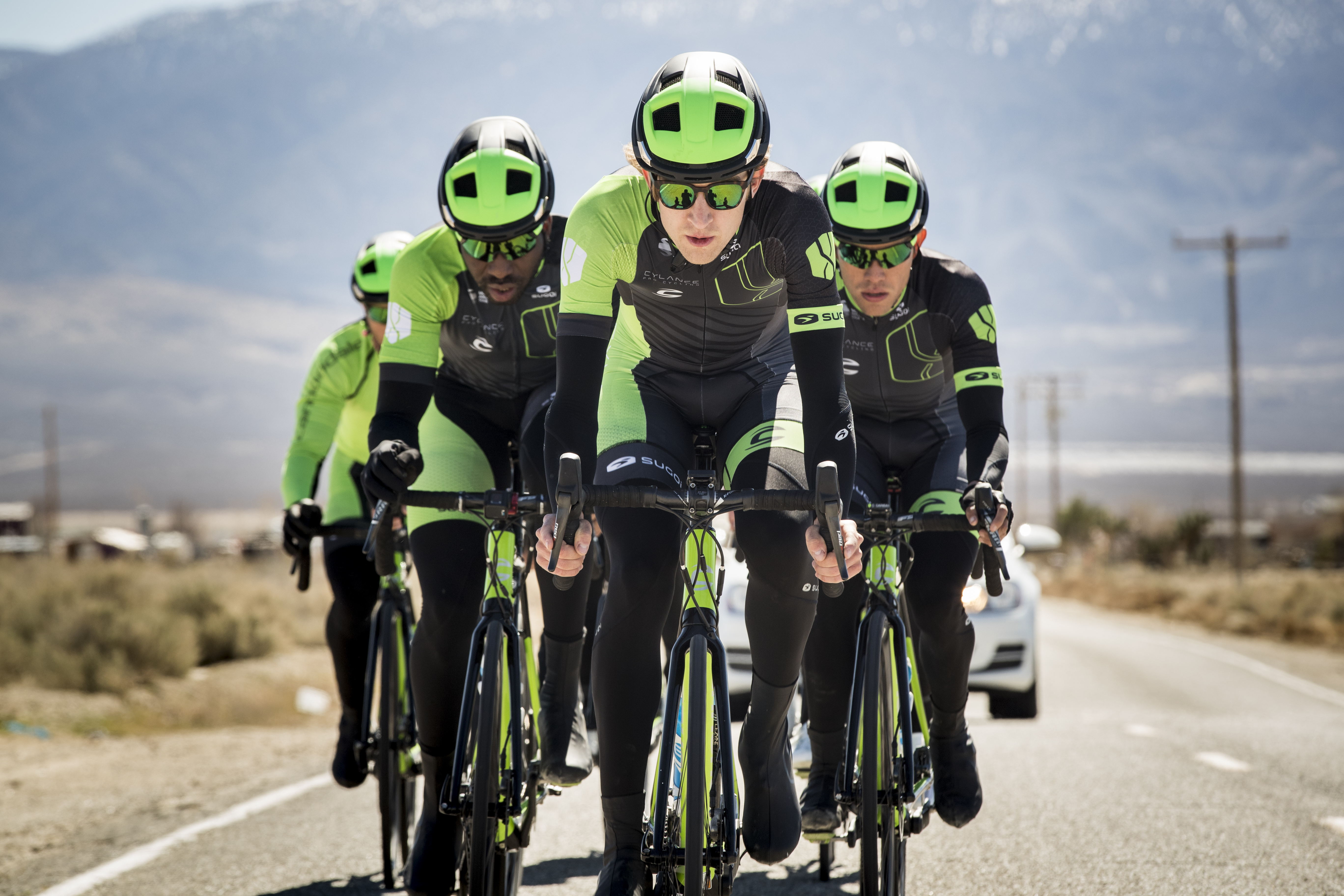 Cylance Pro Cycling Men's Team - March 2017 Team Camp - sponsored by SUGOI