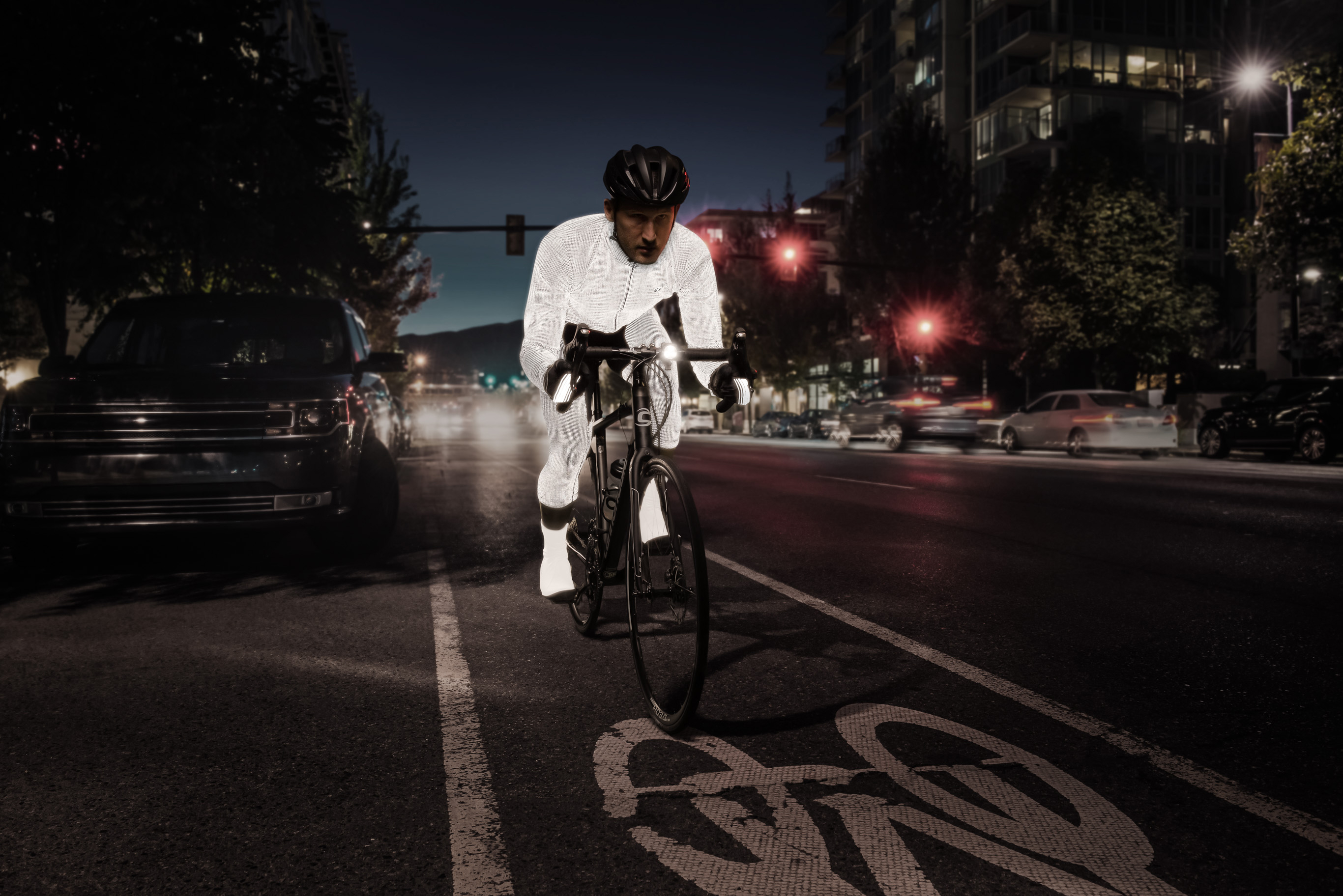 SUGOI Zap Thermal Kit - ultra reflective by night
