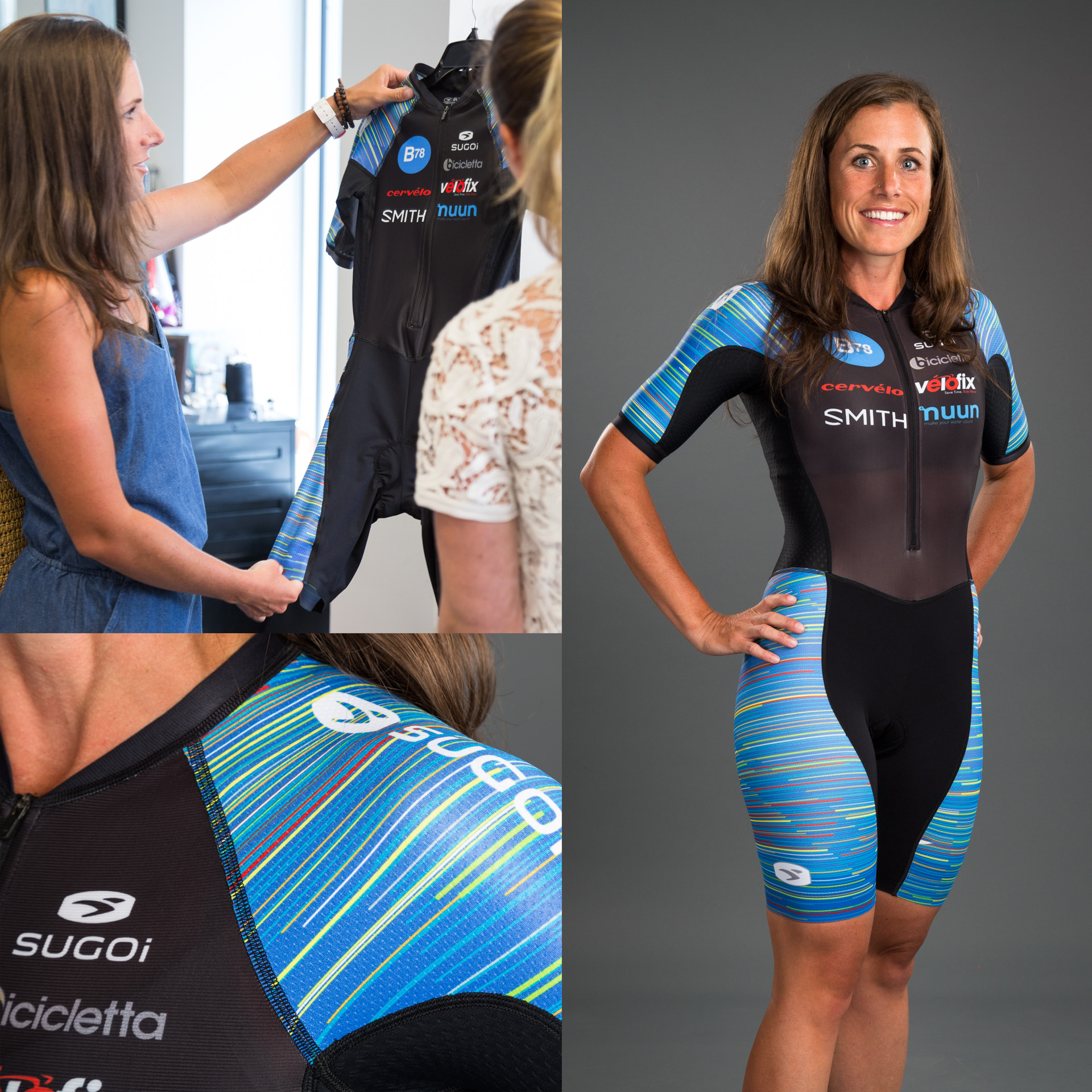 Age Grouper Steph Corker is Kona Ready in her Customized RS Tri Speedsuit