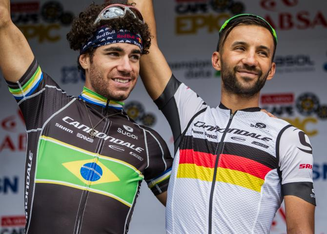 Manuel Fumic and Marco Fontana Win their Final Stage at Cape Epic 2016