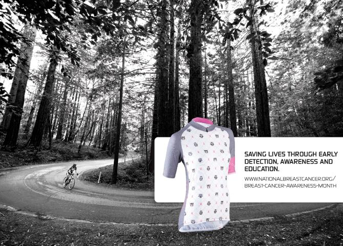 Sugoi October Ride for Hooters Breast Cancer Awareness Jersey
