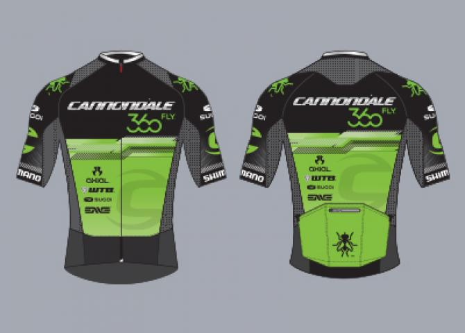 Cannondale 360Fly, powered by SUGOI - Jersey (black)